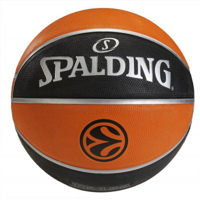 Spalding TF-150 EuroLeague Official Rubber Replica Ball Size 7 (84-003Z1)