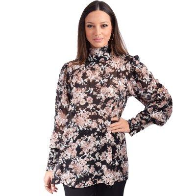 Nidodileda London floral shirt (B-283 TYPOS)