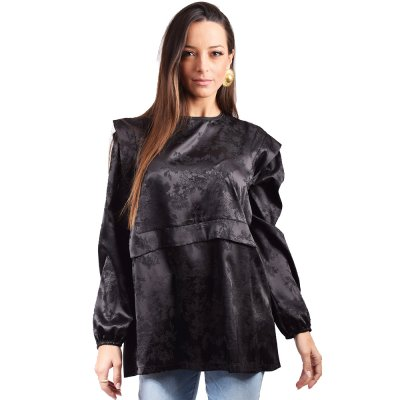 Nidodileda Astrid shirt (B-281 BLACK)