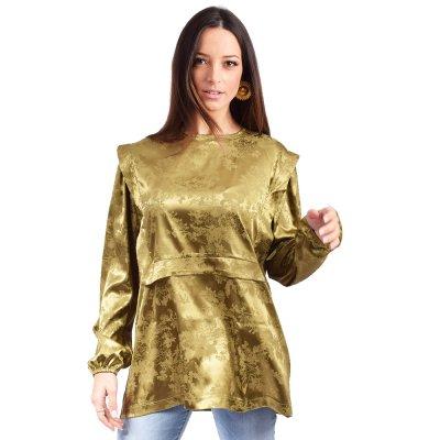 Nidodileda Astrid shirt (B-281 OLIVE GREEN)