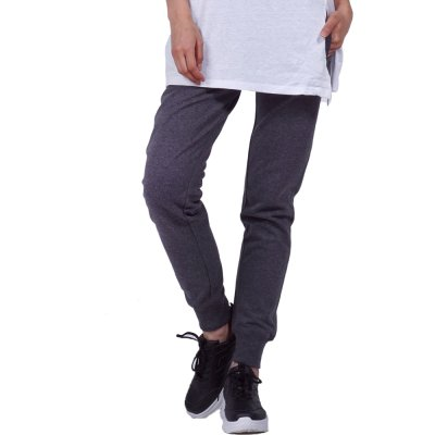Body Action WOMEN RELAXED JOGGERS (021950-01 D.MEL.GREY)