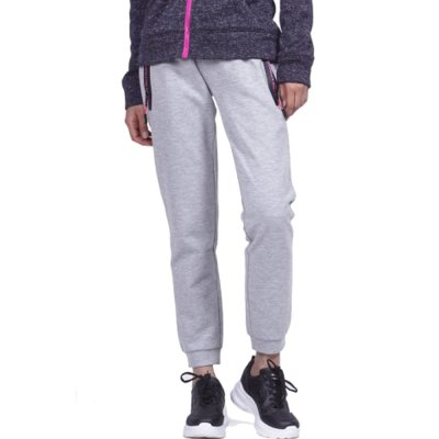 Body Action WOMEN GYM TECH JOGGERS (021951-01 L.MEL.GREY)