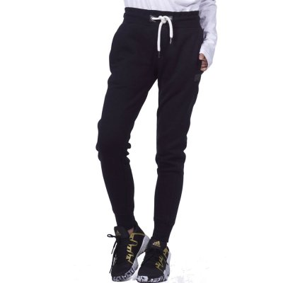 Body Action WOMEN SWEAT PANTS (021953-01 BLACK)