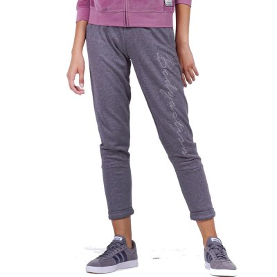 Body Action WOMEN SKINNY JOGGERS (021954-01 D.MEL.GREY)