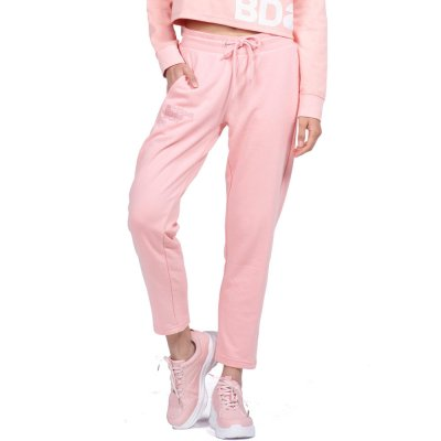 Body Action WOMEN BASIC SWEAT PANTS (021957-01 L.PINK)