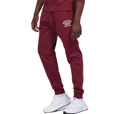 Body Action MEN GYM FLEECE JOGGERS (023941-01 D.MAROON)