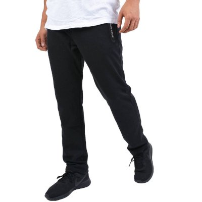 Body Action MEN GYM TECH PANTS (023942-01 BLACK)