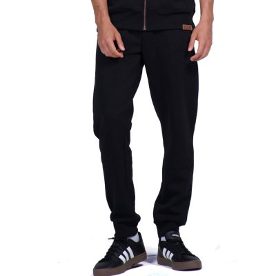 Body Action MEN SPORT FLEECE JOGGERS (023943-01 BLACK)