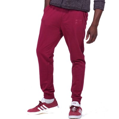 Body Action MEN BASIC SWEAT PANTS (023945-01 D.MAROON)