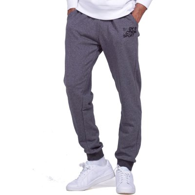 Body Action MEN BASIC SWEAT PANTS (023945-01 D.MEL.GREY)