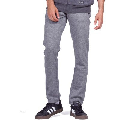 Body Action MEN JOGGER-STYLE SWEATPANTS (023951-01 L.GREY)