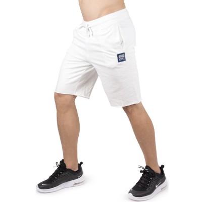 Body Action MEN REGULAR FIT BERMUDA (033918-01 WHITE)