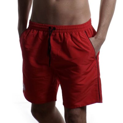 Body Action MEN SHORT BOARD SHORTS (033923-01 RΕD)