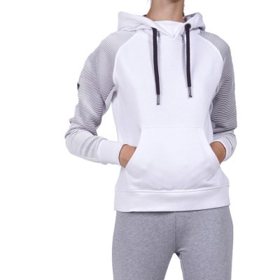 Body Action WOMEN GYM HOODIE (061923-01 WHITE)