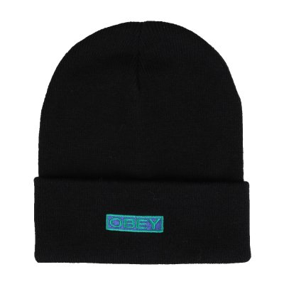 OBEY MOTION BEANIE (100030153 BLACK)