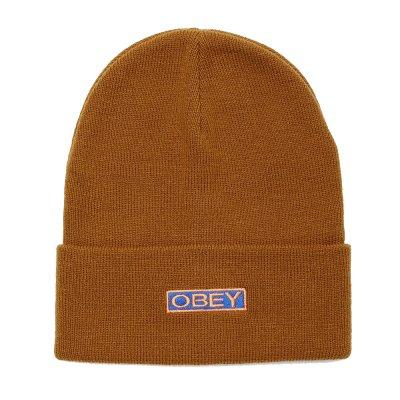 OBEY MOTION BEANIE (100030153 BONE BROWN)