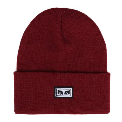 OBEY MOTION BEANIE (100030153 FIG RED)