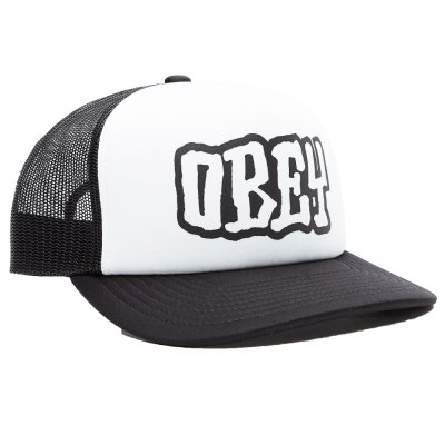 OBEY LOOT TRUCKER HAT (100500021 BLACK)