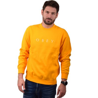 OBEY NOUVELLE II CREW (112480055 GOLD)