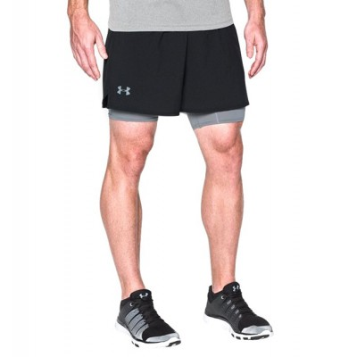 Under Armour QUALIFIER 2-IN-1 SHORT (1289625 001)