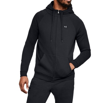 Under Armour RIVAL FLEECE FZ HOODIE SWEAT JACKET (1320737 001)