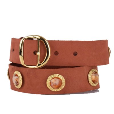 Salt and Pepper Belt (133ACC88 PEACH)