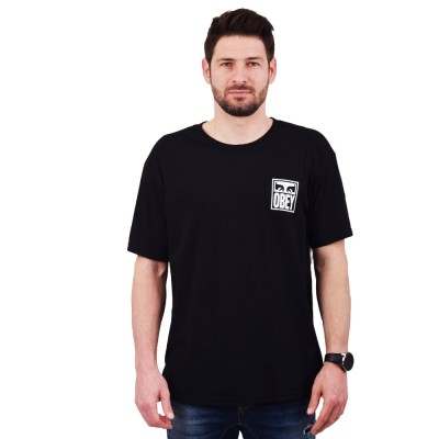 OBEY EYES ICON PREMIUM TEE (165361874 BLACK)