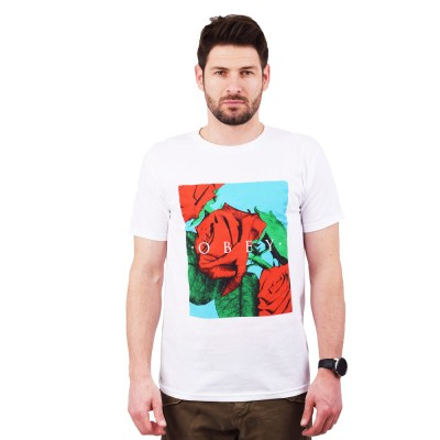 OBEY NO LOVE LOST PREMIUM TEE (165361989 WHITE)