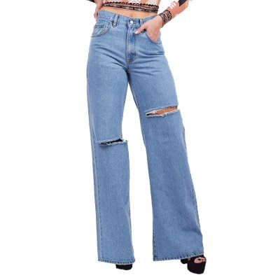 Salt and Pepper Jeans Marissa Light Ripped (2F1B467A TYPE)