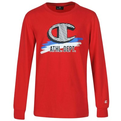 Champion Long Sleeve Crewneck T-Shirt (305443 BS501)