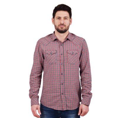 Staff Jeans CHECK 2 ΑΝΔ  ΠΟΥΚΑΜΙΣΟ (61-015.040 N0000)