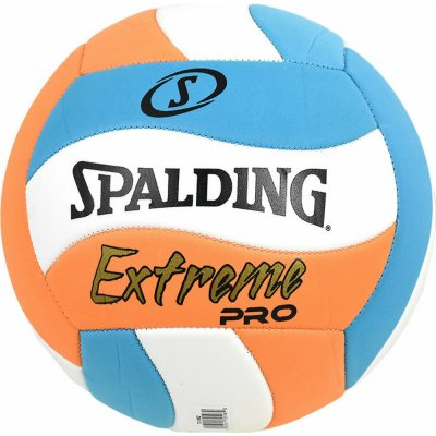 Spalding EXTREME PRO WAVE BLUE-ORANGE VOLLEYBALL (72-198Z1)