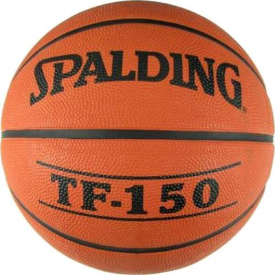 Spalding TF-150 Performance Size 7 Rubber Basketball (73-953Z1)