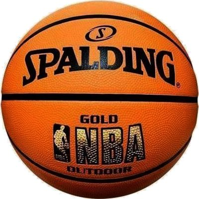 Spalding NBA GOLD OUTDOOR SIZE 7 RUBBER (83-013Z1)
