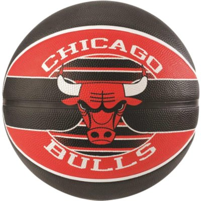 Soalding NBA Team Size 7 Rubber Basketball - Bulls (83-503Z1)