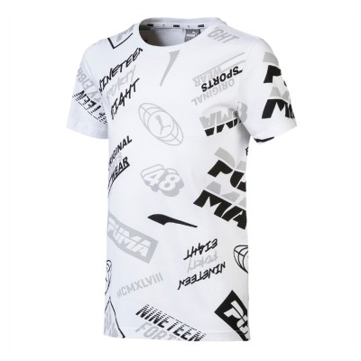 Puma ALPHA Graphic Tee AOP B (854390 02)