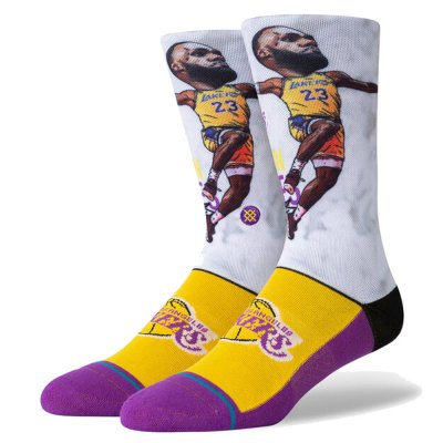 STANCE LBJ BIG HEAD (A548A20LEB)
