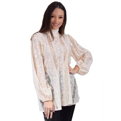 Nidodileda Julien off white mao shirt (B-298 TYPOS)
