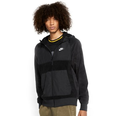 Nike Sportswear Men's Full-Zip Fleece Hoodie (BV3592-010)