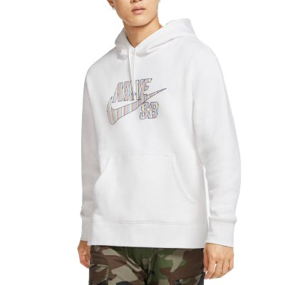 Nike SB Men's Striped Skate Hoodie (CV0279-100)