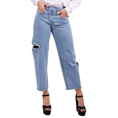 Salt and Pepper Jeans Barbara Light Crooked (D91B0B53 TYPE)