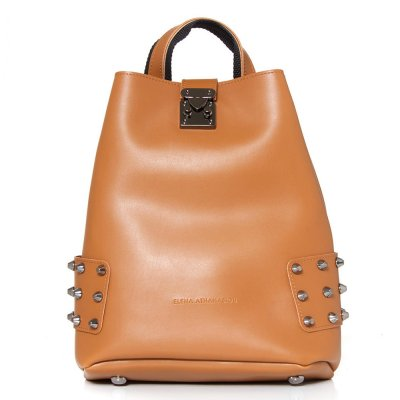 Elena Athanasiou City Lady Backpack (EA-035 Cognac)
