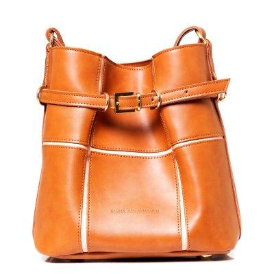Elena Athanasiou Puzzle Bag Large (EA-058 Cognac)