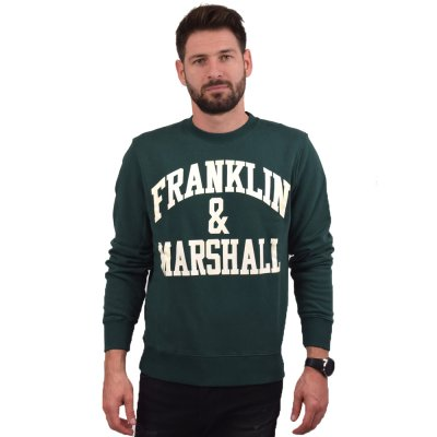 Franklin and Marshall FLEECE COTTON ROUND NECK LONG (FLMF065ANW19 2408)