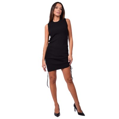Combos Knitwear Dress (FW20-19 BLACK)