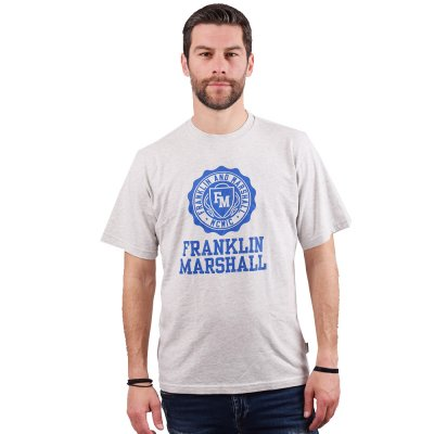 Franklin and Marshall Logo Crest S/S Tee (JM3008 M01)