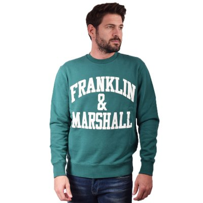 Franklin and Marshall Sweatshirt-BRUSHED COTTON FLEECE (JM5009.000.2002P01 111)