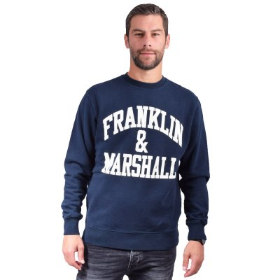 Franklin and Marshall Sweatshirt-BRUSHED COTTON FLEECE (JM5009.000.2002P01 205)