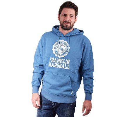 Franklin and Marshall Sweatshirt-BRUSHED COTTON FLEECE (JM5018.000.2002P01 215)