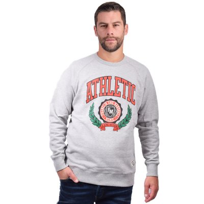 Franklin and Marshall Sweatshirt-BRUSHED COTTON FLEECE (JM5059 M04)